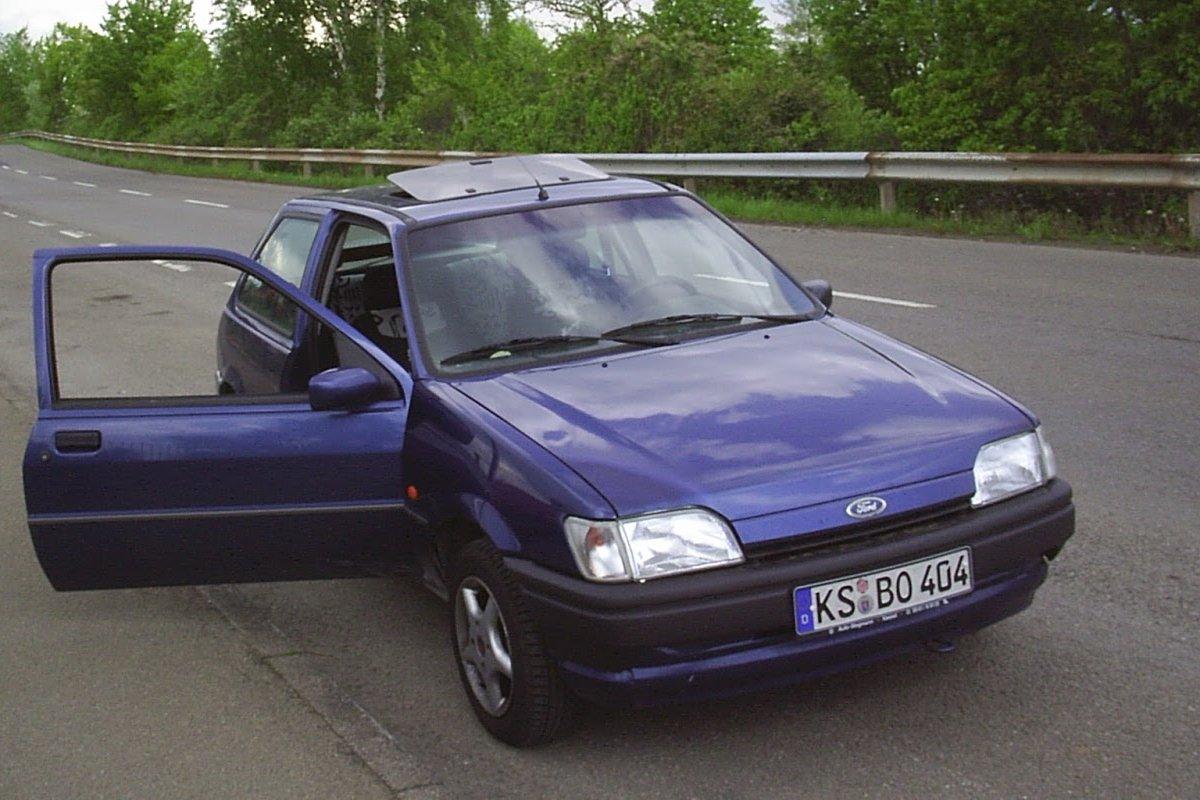 Mein Ford Fiesta
